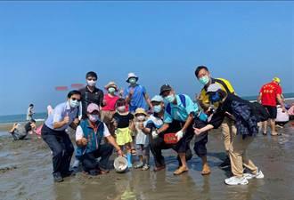 水保局海洋運動會「高年級」隊伍最搶眼