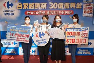 家樂福五倍券加碼、周年慶、日本展三箭齊發 力拚超越去年三倍券28億元