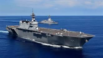 日本加賀號輕航艦訪問斯里蘭卡