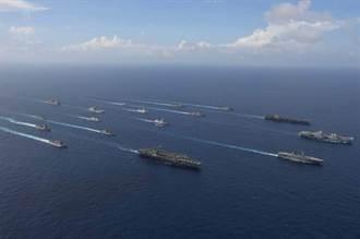 共機持續大規模擾台 3航母6國海軍開展南海聯合演習