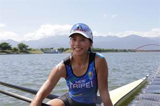 全運會》東奧划船甜姐兒黃義婷上陣 期許明年杭州亞運奪金
