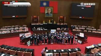 藍營再度占領立院議場 費鴻泰:朝野協商未有結論前不會撤退