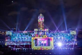 國慶光雕展啟動 向文化前輩丶防疫與運動英雄致敬