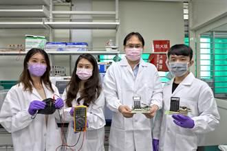 台科大研發薄膜滴水發電 獲未來科技獎