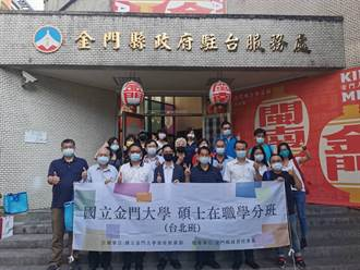 金大開設台北區碩士學分班 即起至10/20受理報名