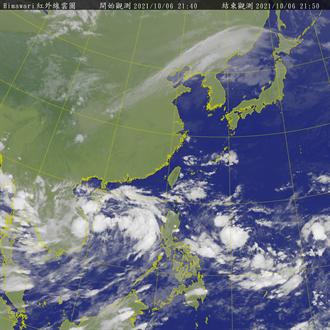 圓規颱風比「獅子山」威脅更大 路徑曝光恐穿台