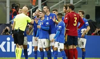 足球》義大利37連不敗神話破滅 歐國聯賽輸西班牙1球