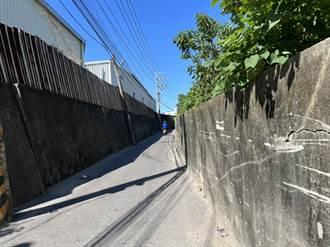 桃園、新北交界道路拓寬卡關 福德一路巷弄最窄僅4米
