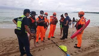 墾丁遊客划立式划槳體力不支 海上漂流近1小時獲救