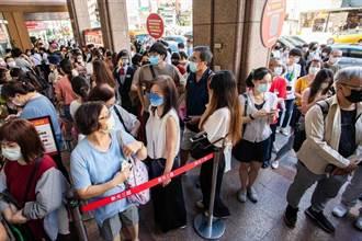 新光三越周年慶首波6店首日創15億元 追平去年