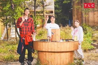 尹斗俊南北韓交界秘境蓋屋 木工魂爆發第1次做野餐桌就上手
