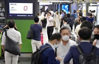 影》東京6.1強震瞬間畫面曝光 路燈猛搖、水管爆 、電車停駛