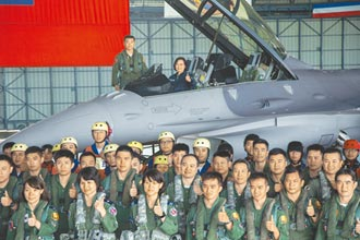 蔡總統正告北京要克制 避免擦槍走火