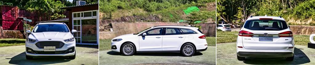 外觀上與過去的汽油車型沒有太大差異,未導入強調運動感的ST-Line套件。(圖/陳彥文攝)