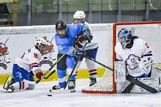冰球》拚搶北京冬奧門票 中華隊資格賽首役不敵哈薩克