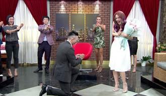遲了3年補求婚 Jeff浪漫喊話劉雨柔:希望妳打我一輩子
