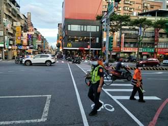 預判國慶連假現車潮 新莊警提前交通疏導