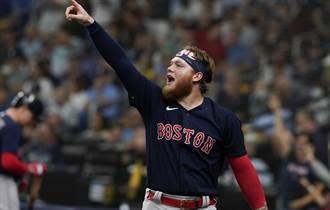 MLB》滿貫炮不敵5發飛彈 紅襪5人猛打賞炸垮光芒