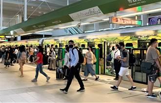 中捷綠線累積運量將破200萬 幸運兒預計下午出現