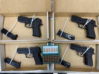 男開車藏4槍56發子彈 「隨時支援火拼」雲林落網