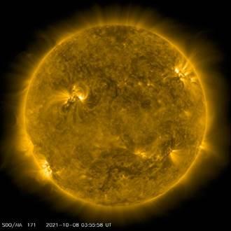 北市天文館觀測「太陽異常活躍」 恐影響網路、電力