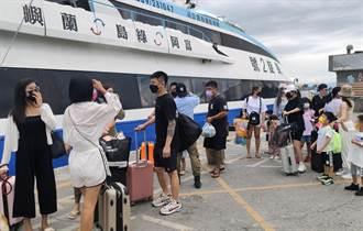 國慶連假颱風攪局 綠島客輪明天只出不進