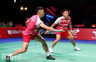 湯姆斯盃羽賽 中華隊先盛後衰負泰國