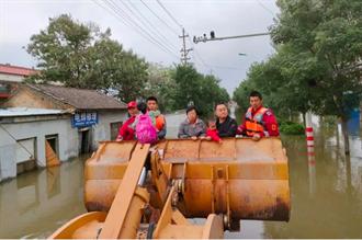 暴雨侵襲山西省多地 房屋倒塌、多人死亡失蹤