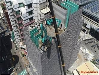 維護安全 中市府嚴格把關拆除工程