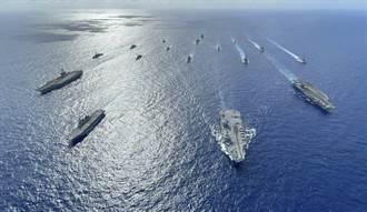 共機頻擾台 日媒:可能跟美英航艦聯合訓練有關