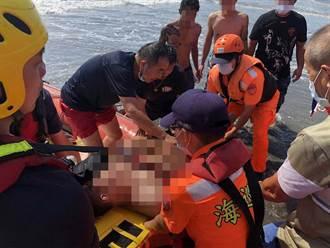 連假出遊悲劇 漁光島大浪捲走戲水3少年 1人溺斃