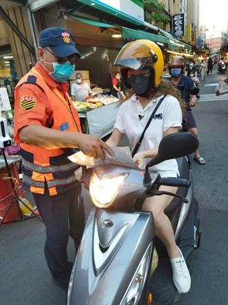 交通安全月 新北蘆洲警加強宣導、取締交通違規