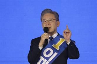 韓國京畿道知事李在明代表執政黨參選下任總統