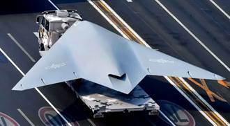 陸發布動畫模擬兩棲攻擊艦起降攻擊11艦載版無人機