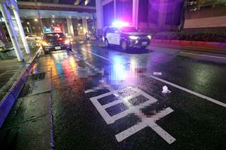 北市車禍 大雨視線差 多元計程車撞飛行人命危