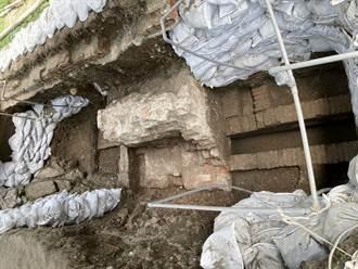 熱蘭遮城考古發掘 首見排水系統出土