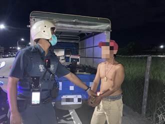 偷車又酒駕 台東賴姓竊賊遭逮