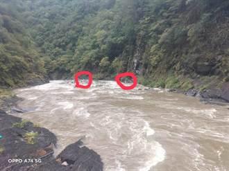 無視禁令颱風天硬闖泰崗野溪溫泉 6遊客受困沙洲