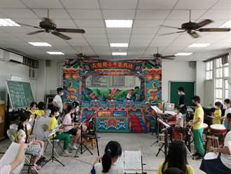「斑鳩媽」刺激靈感 斗六石榴國小布袋戲團把首演獻給媽祖