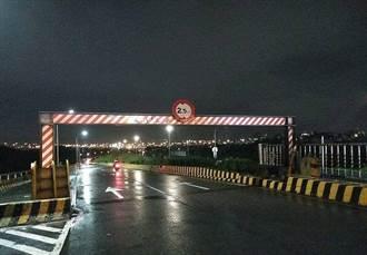 圓規颱風來襲 新北重新堤外道、忠孝碼頭晚間9點封閉