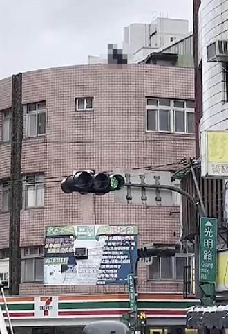 新北三峽男子從4樓墜馬路 民眾目擊嚇壞