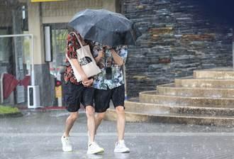 圓規逼近「不亞於陸警颱」 入夜風雨更強 宜蘭防超大豪雨