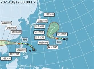 圓規颱風遠離 宜蘭、台中防大豪雨 蘭嶼出現8.1公尺浪高