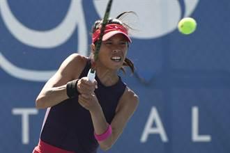 印地安泉網賽》享受比賽 謝淑薇女雙晉8強