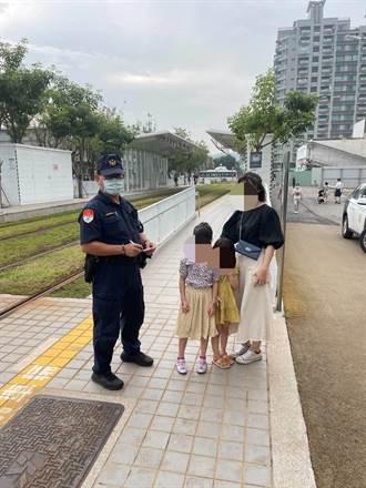 糊塗父母連假搭輕軌出遊 一上車5歲女兒不見了 結局超展開