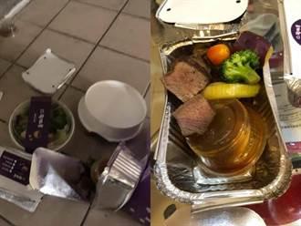 點外送牛排遭放地上、醬汁灑光 恐怖包裝1疑點網轟偷吃