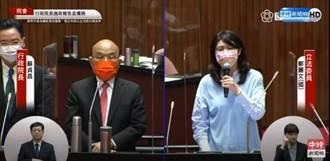 蘇貞昌罵鄭麗文「袂見笑」教壞小孩? 街頭民調結果曝光