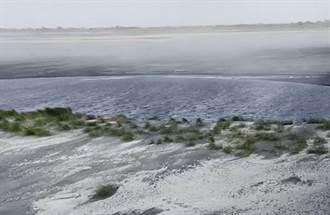 雲林空品「褐爆」 河川局整治濁水溪新生裸露地