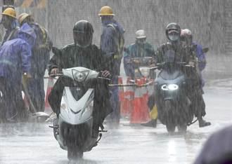 圓規颱風帶來大雨 36校災損272萬元