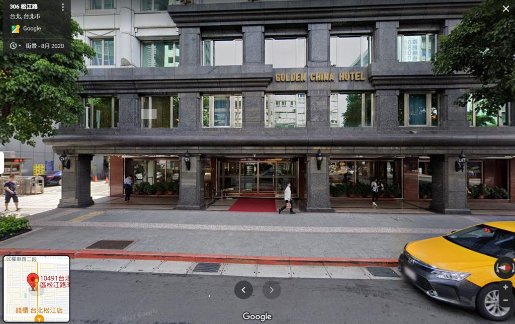 康華大飯店將在11月30日熄燈,結束它40年的歷史。(圖/翻攝自google地圖)